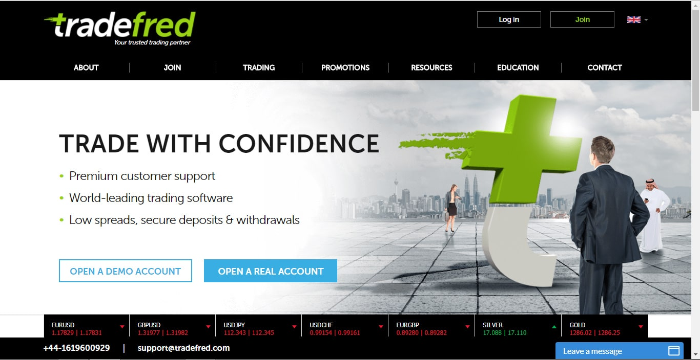 TradeFred Website