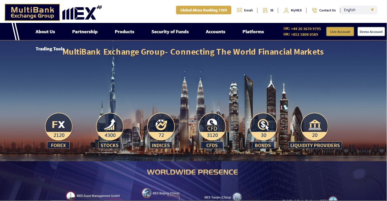 MexGroup Website